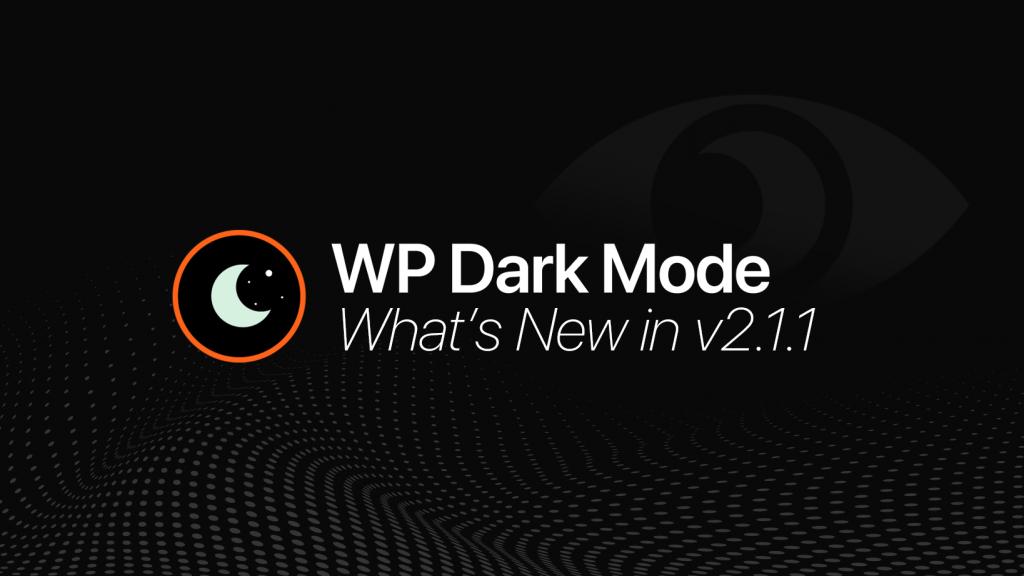 WP Dark Mode